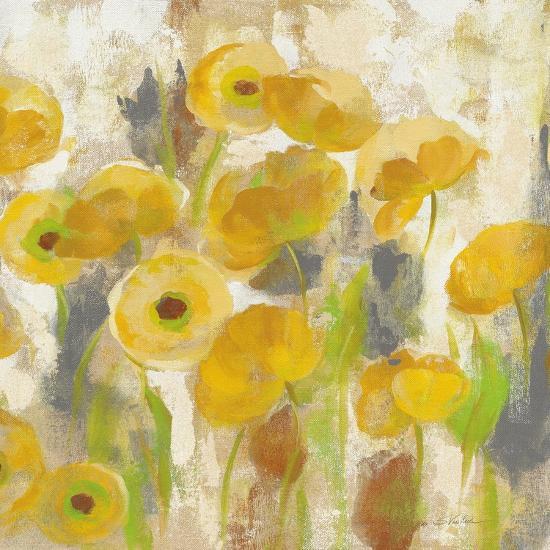 Floating Yellow Flowers V-Silvia Vassileva-Art Print