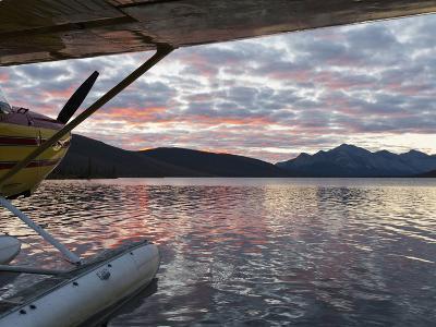 Floatplane, Takahula Lake, Alaska, USA-Hugh Rose-Photographic Print
