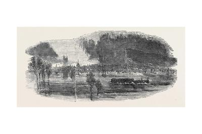 Flood at Gloucester, 1852--Giclee Print