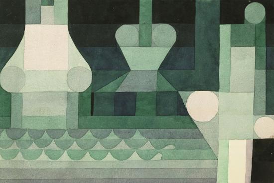 Floodgates (Schleusen). 1922--Giclee Print
