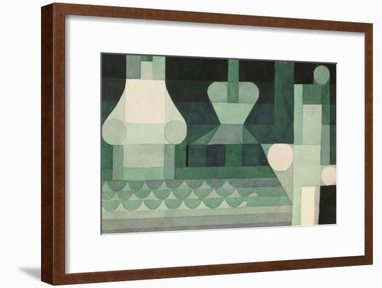 Floodgates (Schleusen). 1922--Framed Giclee Print