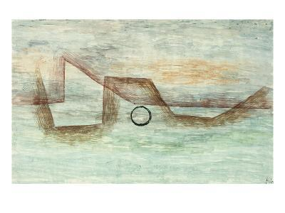 Flooding; Uberflutung-Paul Klee-Giclee Print