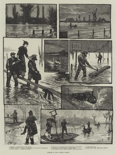 Floods in the Thames Valley-William Bazett Murray-Giclee Print