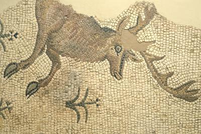Floor Mosaic Depicting Deer, from Oderzo--Giclee Print
