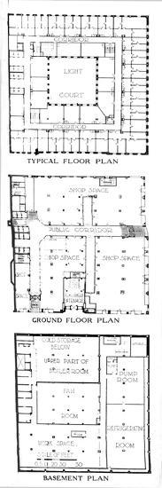 Floor plans, the SW Straus & Co Building, Chicago, Illinois, 1924-Unknown-Giclee Print