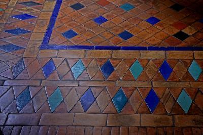 Floor: Tile Design--Giclee Print