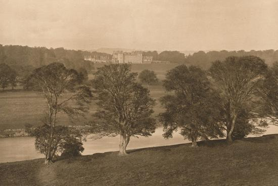 'Floors Castle, from the Soth Bank of the Tweed', 1902-Unknown-Photographic Print