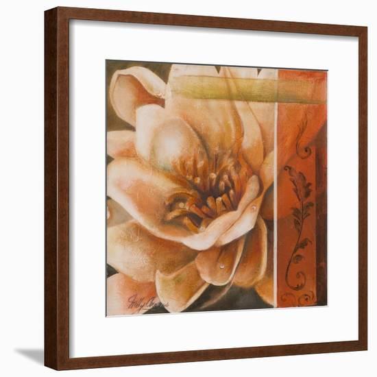 Flor de Loto I-Nelly Arenas-Framed Premium Giclee Print
