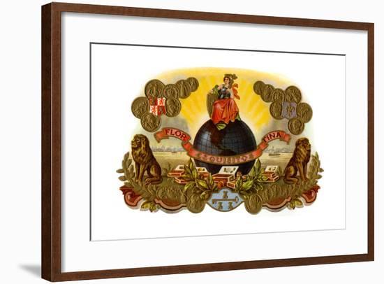 Flor Esqisitos Fina--Framed Art Print