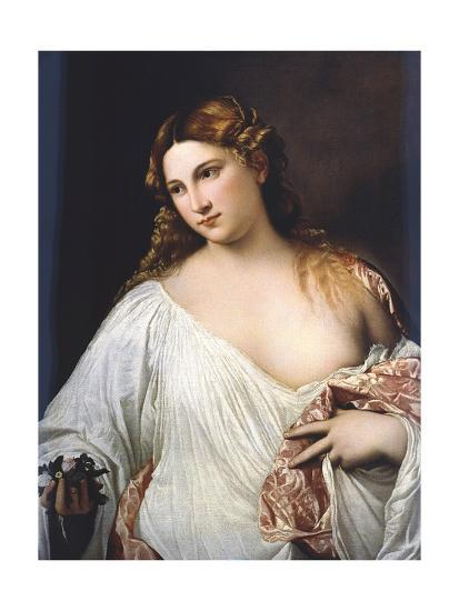 Flora by Titian--Giclee Print