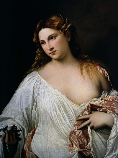 Flora, Ca 1515-Titian (Tiziano Vecelli)-Giclee Print
