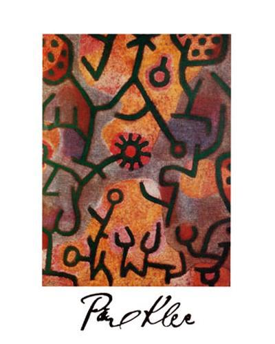 Flora di Roccia-Paul Klee-Art Print