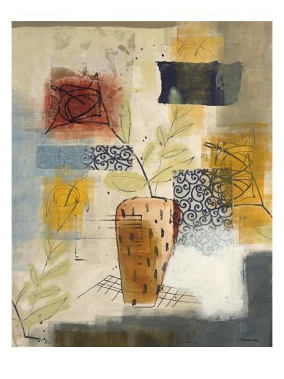 Flora II-David Dauncey-Premium Giclee Print