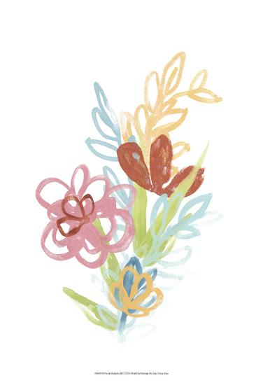 Flora Moderne III-June Erica Vess-Art Print