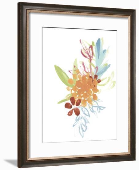 Flora Moderne IV-June Vess-Framed Art Print