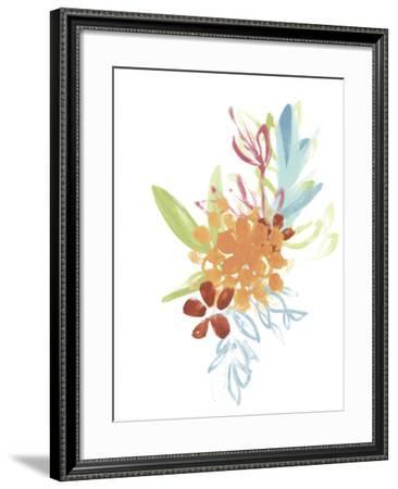 Flora Moderne IV-June Vess-Framed Art Print
