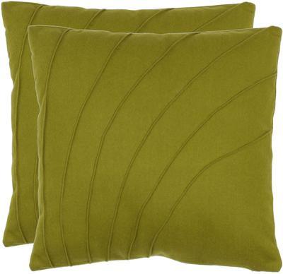Flora Pillow Pair - Green