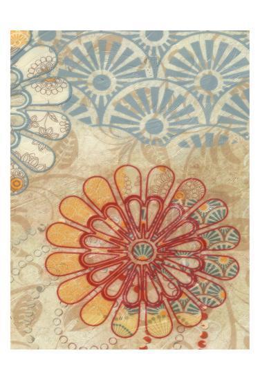 Flora Trance V-Taylor Greene-Art Print