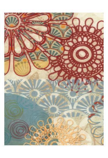 Flora Trance VI-Taylor Greene-Art Print