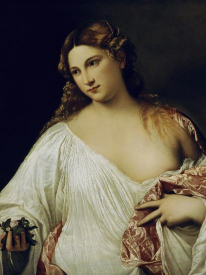 Flora-Titian (Tiziano Vecelli)-Giclee Print