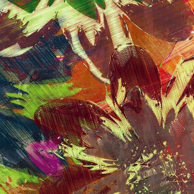 Floragraph IV-James Burghardt-Art Print