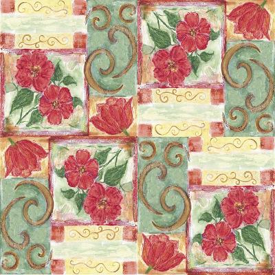 Floral 4-Maria Trad-Giclee Print