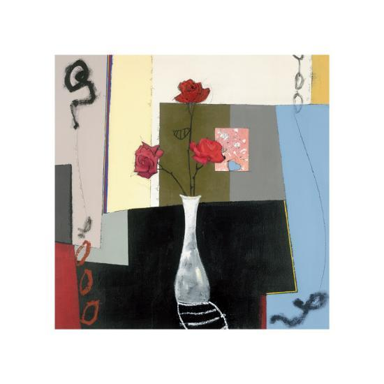 Floral Allegory-Thule-Giclee Print