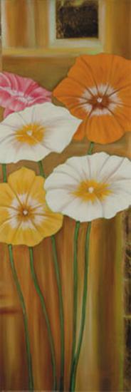 Floral Arrangement IV-Erik De Andr?-Art Print