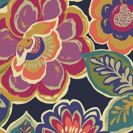 Floral Assortment Square I-Hugo Wild-Art Print