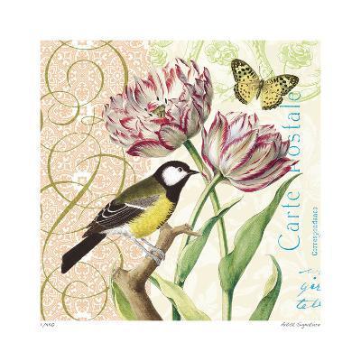 Floral Bliss II-Paula Scaletta-Giclee Print
