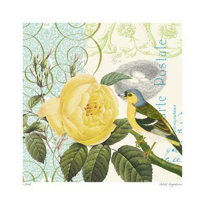 Floral Bliss IV-Paula Scaletta-Giclee Print