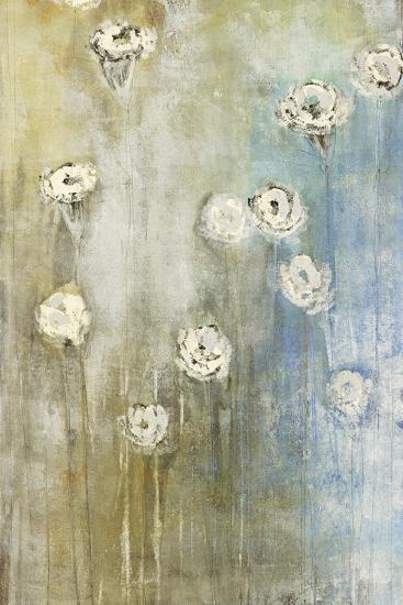 Floral Blues 1-Maeve Harris-Premium Giclee Print