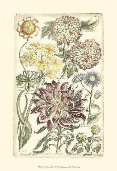 Floral Bounty I--Art Print
