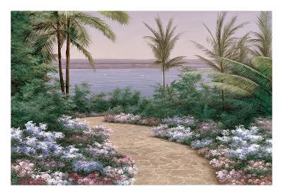 Floral Breeze-Diane Romanello-Art Print
