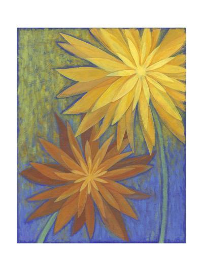 Floral Burst II-Megan Meagher-Art Print
