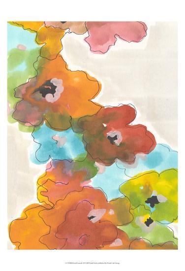 Floral Cascade II-Jodi Fuchs-Art Print