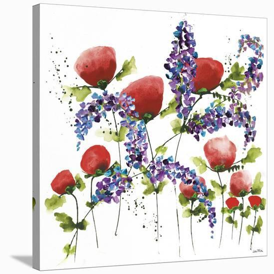 Floral Celebration I-Jean Picton-Stretched Canvas Print