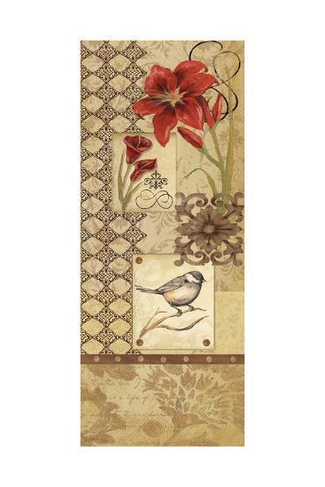 Floral Collage I-Jo Moulton-Art Print
