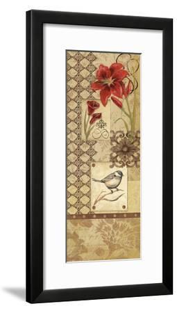 Floral Collage I-Jo Moulton-Framed Art Print