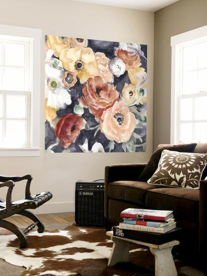 Floral Composition I-Megan Meagher-Wall Mural