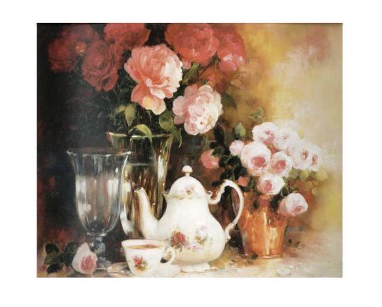 Floral Composition-Lise Auger-Art Print