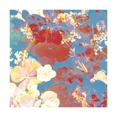 Floral Compositions Square II-Alaya Gadeh-Art Print