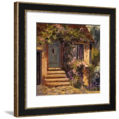 Floral Cottage-Allayn Stevens-Framed Art Print