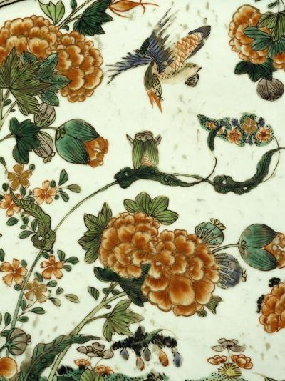 Floral Decoration, Decoration of a Famille Verte--Giclee Print