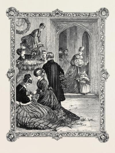Floral Decorations, 1869--Giclee Print