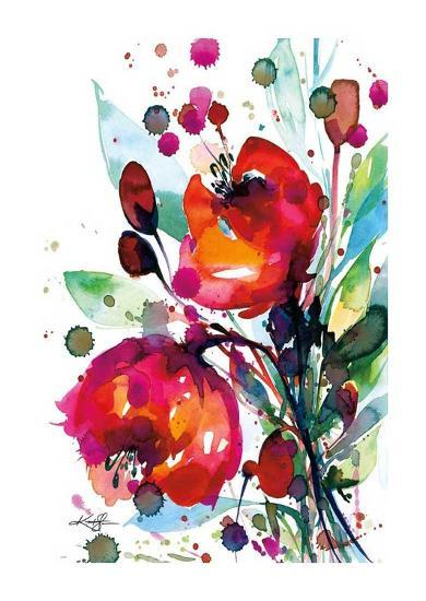 Floral Dream I-Kathy Morton Stanion-Art Print