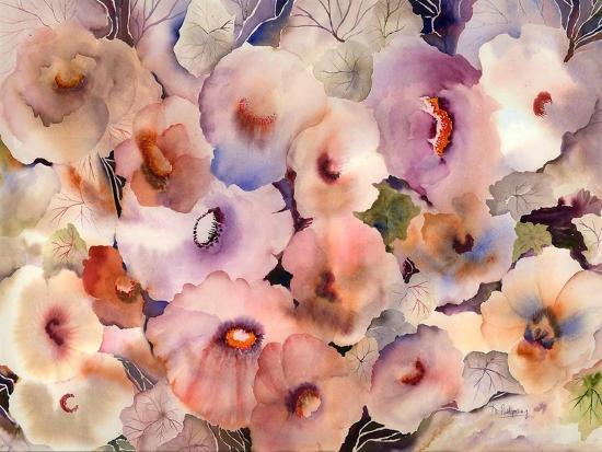 Floral Dreams-Neela Pushparaj-Giclee Print