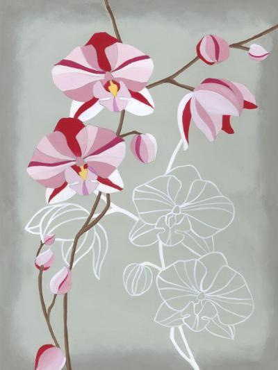 Floral Echo I-Vanna Lam-Art Print