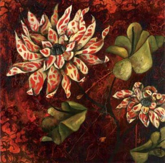 Floral et Vegetal-Delphine Cossais-Art Print
