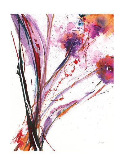 Floral Explosion III on White-Jan Griggs-Art Print